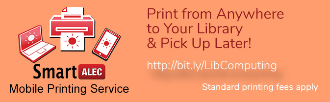 The Library now has a mobile printing app.