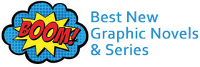 Click or tap to see a booklist of best new graphic novels and series.