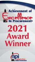 Achievement of Excellence in Procurement 2017 Award Winner