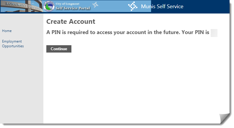 Self Service Portal Tutorial | City of Longmont, Colorado