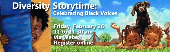 The library is featuring a special storytime to honor Black History Month.