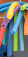 pool noodles at centennial pool iamge