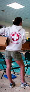 lifeguard centennial pool image
