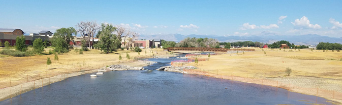 Resilient St. Vrain project west of Martin St