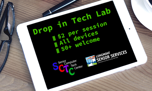 Senior Computer Tech Center Drop in Lab