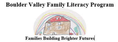 Boulder Valley Family Literarcy logo