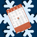 Read, watch, and listen to win prizes with Wintertime Bingo!