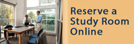 You can reserve a Library study room online.