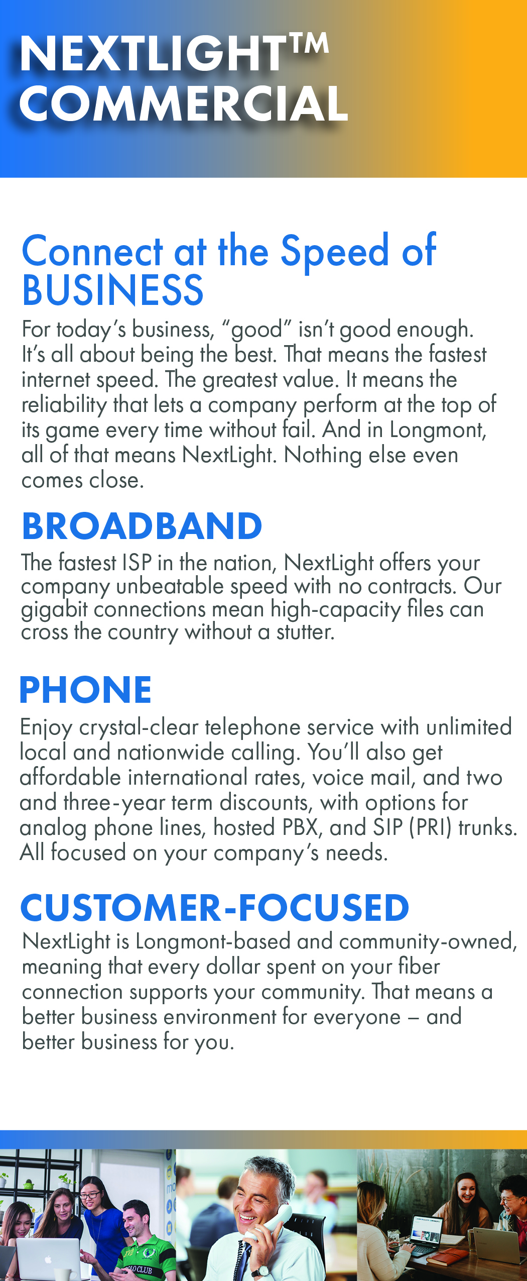 NextLight Commercial Sales Brochure