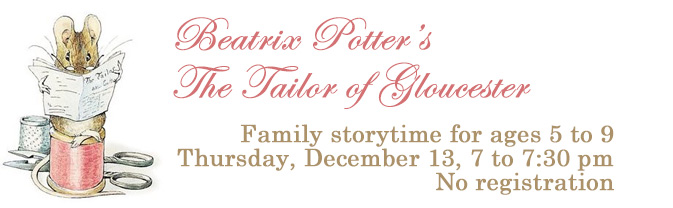 Come to a special bedtime storytime featuring Beatrix Potter's classic