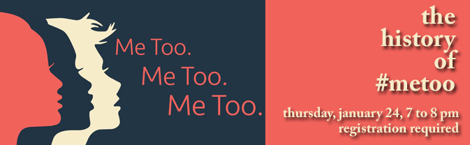 Come hear Dr. Catlyn Keenan discuss the #metoo movment.