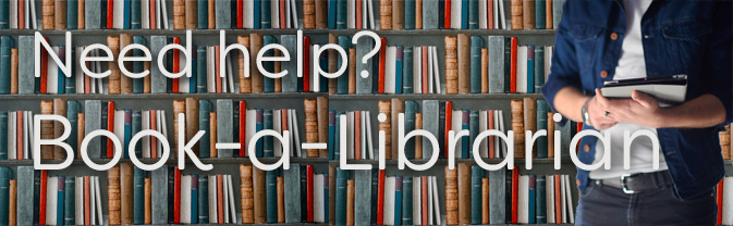 Patrons can make appointments for one-on-one help from librarians.