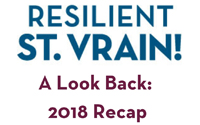 Resilient St. Vrain A Look Back 2018 Recap