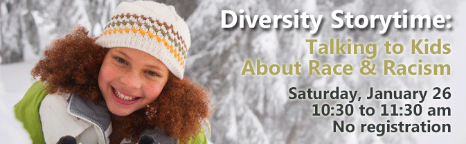 This Diversity Storytime tackles the challenge of talking to kids about racism and race.