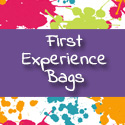 The library has experience bags for toddlers and preschoolers.