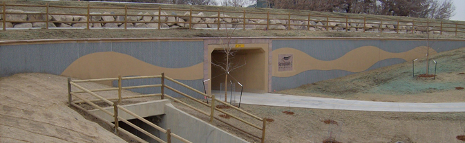 Spring Gulch #2 Greenway underpass completed