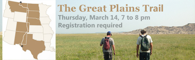 The Library has a program all about the developing Great Plains Trail.