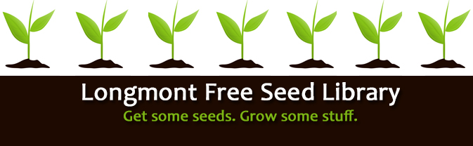 Visit our Free Seed Library during the growing season!