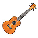 You can borrow a ukulele from the library.