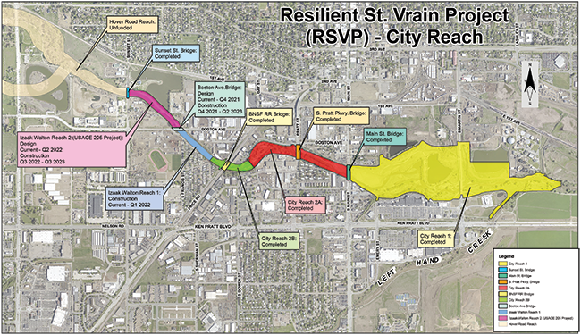Resilient St Vrain RSV Schedule of Project Work