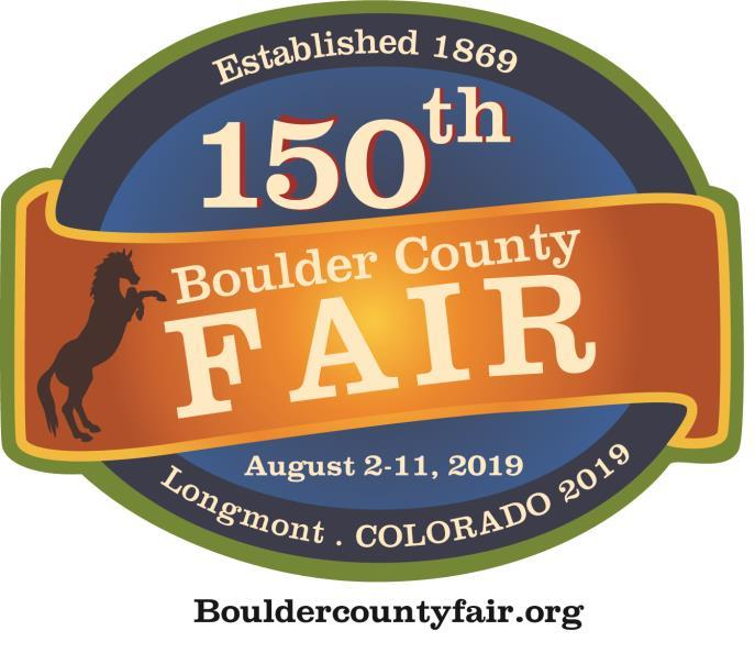 Boulder County Fair 2019 150 Official Logo Final