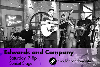 Edwards and Company: Saturday 7-8pm