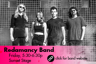 Redamancy Band: Friday 5:30-6:30pm