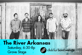 The River Arkansas: Saturday 6:30-8pm