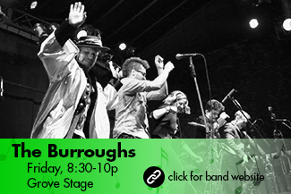 The Burroughs: Friday 8:30-10pm