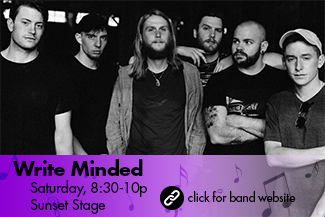 Write Minded: Saturday 8:30-10pm