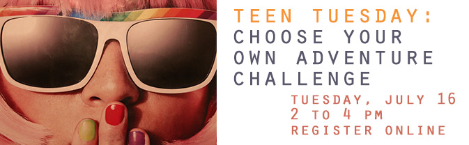Teens can create their own adventures with this fun program.