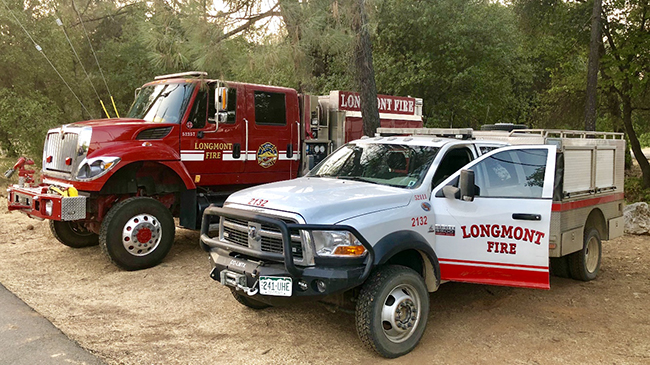 wildfires trucks response large fires