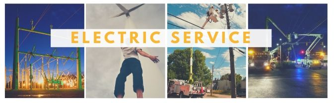 Electric Service Banner