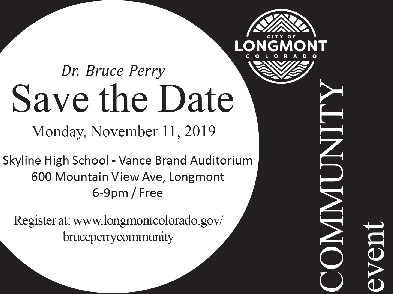 Save the Date November 11 Bruce Perry