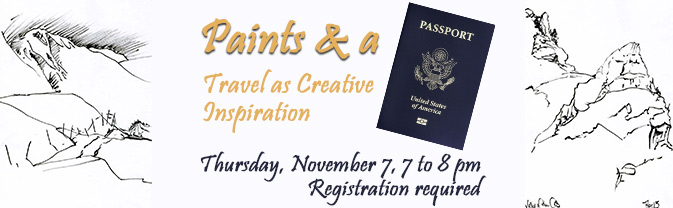 Paints-and-Passport-Program at the Library