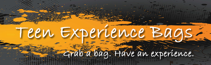 The library has Experience Bags for teens and tweens.