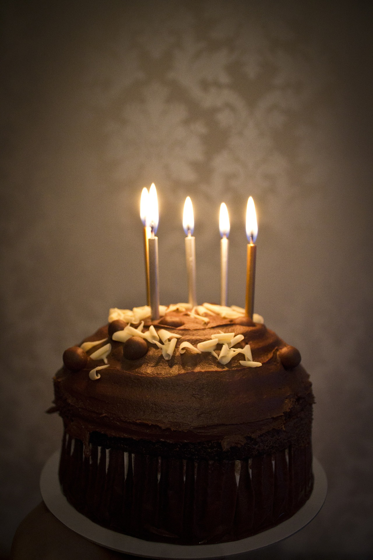 Picture of Birthday cake with five candles