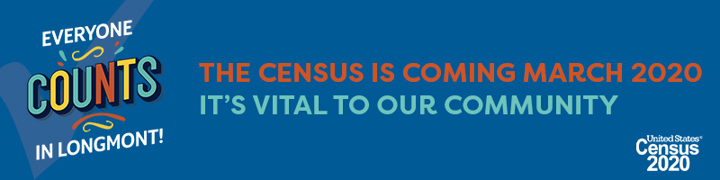 Everyone Counts in Longmont, The Census is Coming March 2020