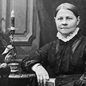 Lyda Mary Hardy perfroms a first-person living history portrayal of Lucy Stone.