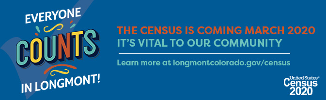 The Library encourages every one to participate in the 2020 U.S. Census.