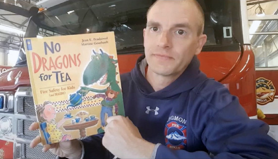 Longmont Fire Childrens book