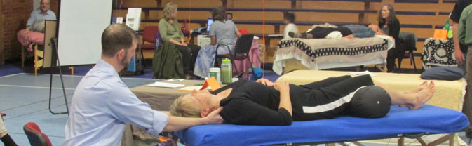 massage taste of wellness fair
