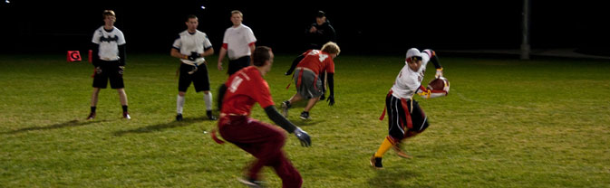 flag football sports athletics leagues