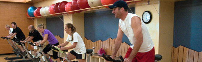 longmont recreation center spinning spin fitness class