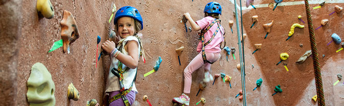 longmont recreation center climbing wall girls