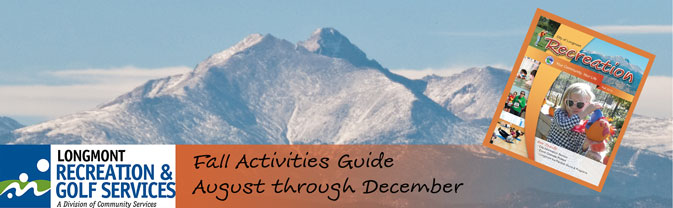 fall recreation golf activities brochure guide