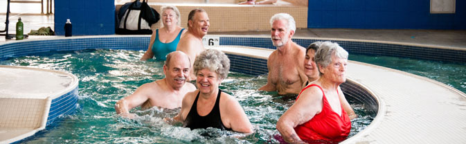 senior water fitness recreation center