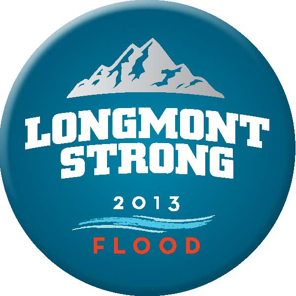 Longmont Strong button