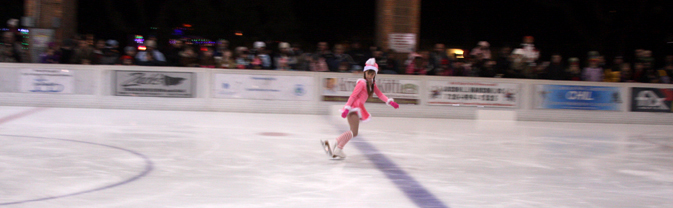 ice pavilion single skater
