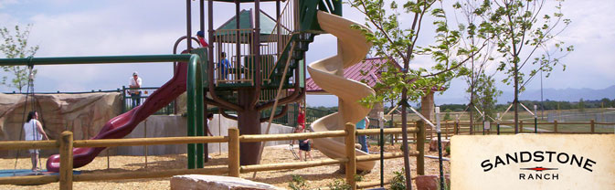 Sandstone Ranch Playground area